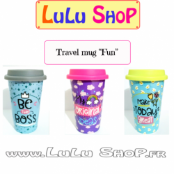 "Travel Mug ""Coloré"""