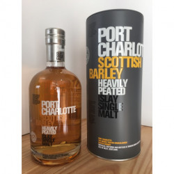 Whisky Port Charlotte Scottish Barley