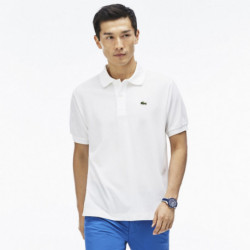 Polo Manches Courtes Lacoste blanc
