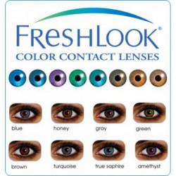 Lentilles de contacts de couleurs FRESHLOOK