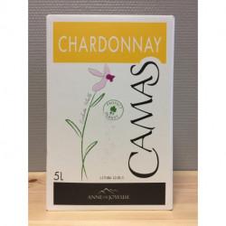 vin blanc chardonnay bib 5l Camas