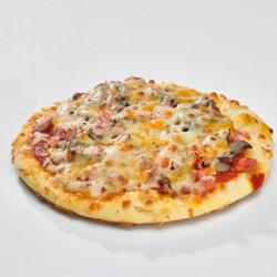 pizza lardons champignons