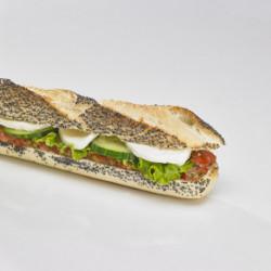 sandwich crudités mozzarella